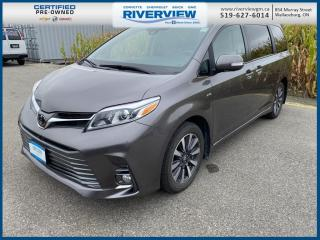 Used 2020 Toyota Sienna XLE 7-Passenger Navigation System | DVD Player | Sunroof for sale in Wallaceburg, ON