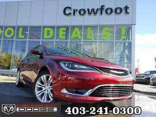 Used 2015 Chrysler 200 LIMITED V6 SEDAN for sale in Calgary, AB