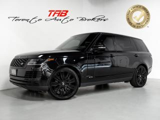 Used 2018 Land Rover Range Rover LWB | SUPERCHARGED I 22 IN WHEELS I PANO I CAM for sale in Vaughan, ON
