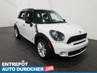 Used 2014 MINI Cooper Countryman S Toit panoramique - Cuir - Climatiseur for sale in Laval, QC