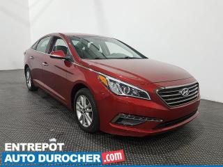 Used 2015 Hyundai Sonata 2.4L GLS AUTOMATIQUE Climatiseur - Bluetooth for sale in Laval, QC