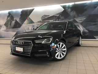 Used 2018 Audi A4 2.0T Komfort + Convenience Pkg   RearCam   Sunroof for sale in Whitby, ON