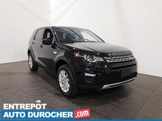 Used 2017 Land Rover Discovery Sport HSE TURBO AWD Cuir- Toit panoramique- Climatiseur for sale in Laval, QC