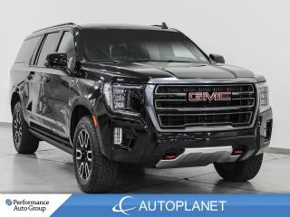 Used 2021 GMC Yukon XL AT4 4x4, 7-Seater, Heads Up Display, Pano Roof! for sale in Clarington, ON