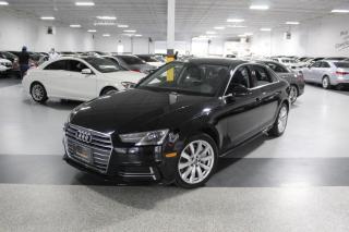 Used 2018 Audi A4 QUATTRO I NAVIGATION I REARCAM I LEATHER I SUNROOF I CARPLAY for sale in Mississauga, ON