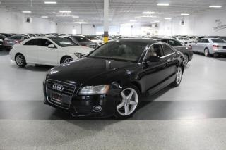Used 2011 Audi A5 PREMIUM QUATTRO I LEATHER I SUNROOF I HEATED SEATS I AS IS for sale in Mississauga, ON