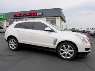Used 2016 Cadillac SRX 4 Luxury Collection 3.6L AWD Navigation Camera Certified for sale in Milton, ON