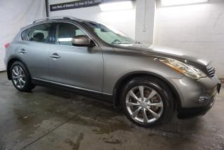 Used 2009 Infiniti EX 35 AWD TOURING CAMERA CERTIFIED 2YR WARRANTY *FREE ACCIDENT* HEATED LEATHER SUNROOF BLUETOOTH for sale in Milton, ON