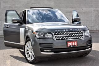 Used 2016 Land Rover Range Rover Supercharged V8 510-HP! Deployable Steps HUD In-Control Massg Seats Pano Roof... for sale in Toronto, ON