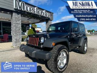 Used 2016 Jeep Wrangler Sport  - Cruise Control -  Removable Top for sale in Bracebridge, ON