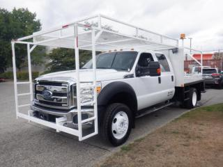 Used 2012 Ford F-450 Super Duty Crew Cab Flat Deck for sale in Burnaby, BC