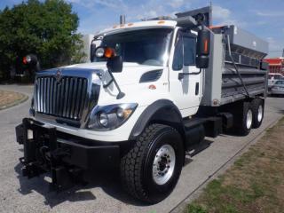 Used 2009 International WorkStar 7600 Diesel Dump Truck Spreader Diesel With Air Brakes for sale in Burnaby, BC