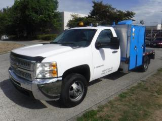 Used 2008 Chevrolet Silverado 3500HD 2WD Service Truck With Classic 300D Welder for sale in Burnaby, BC