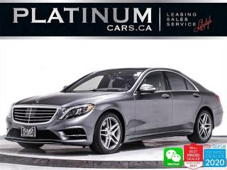 Used 2016 Mercedes-Benz S-Class S550 4MATIC, AWD, DISTRONIC PLUS, DRI. ASSIST PKG for sale in Toronto, ON