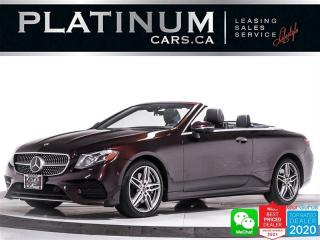Used 2018 Mercedes-Benz E-Class E400 4MATIC, AWD, DISTRONIC PLUS, HUD, MASSAGE for sale in Toronto, ON