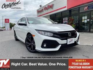 Used 2018 Honda Civic Hatchback Sport for sale in Peterborough, ON