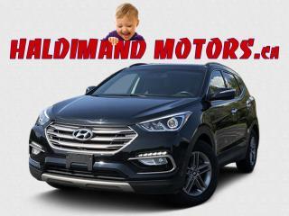 Used 2017 Hyundai Santa Fe LUXURY SPORT AWD for sale in Cayuga, ON