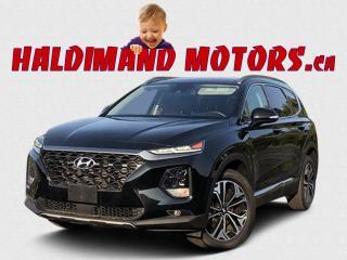 Used 2019 Hyundai Santa Fe ULTIMATE AWD for sale in Cayuga, ON