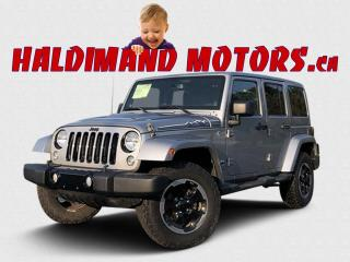 Used 2014 Jeep Wrangler Unlimited Sahara 4WD for sale in Cayuga, ON