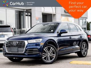 Used 2018 Audi Q5 2.0 Progressiv Quattro Heated Seats Panoramic Roof Navigation Backup Camera for sale in Thornhill, ON