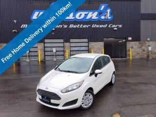 Used 2017 Ford Fiesta SE, 5spd Manual - Bluetooth, Heated Seats, Keyless Entry and More! for sale in Guelph, ON