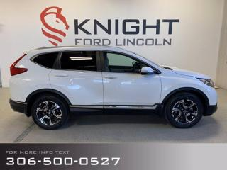 Used 2019 Honda CR-V Touring for sale in Moose Jaw, SK