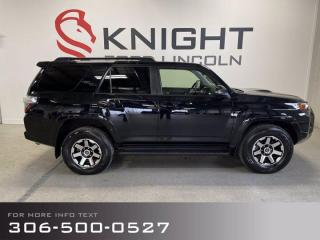 Used 2020 Toyota 4Runner local trade, fully loaded, hard to find! for sale in Moose Jaw, SK