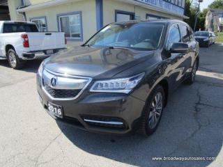 Used 2016 Acura MDX LOADED ALL-WHEEL DRIVE 7 PASSENGER 3.5L - SOHC.. BENCH & THIRD ROW.. NAVIGATION.. LEATHER.. HEATED SEATS.. POWER SUNROOF.. BACK-UP CAMERA.. for sale in Bradford, ON