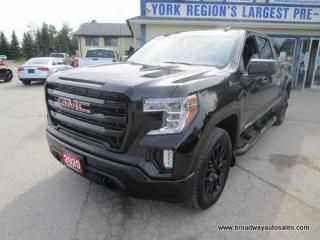Used 2020 GMC Sierra 1500 LIKE NEW ELEVATION-EDITION 5 PASSENGER 5.3L - V8.. 4X4.. CREW.. SHORTY.. TRAILER BRAKE.. BACK-UP CAMERA.. BLUETOOTH SYSTEM.. HEATED SEATS & WHEEL.. for sale in Bradford, ON