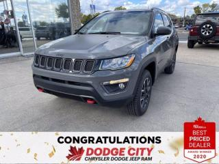 New 2021 Jeep Compass Trailhawk- 4WD,Nav,Remote Start, Heated Seats/Wheel for sale in Saskatoon, SK