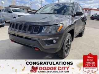 New 2021 Jeep Compass Trailhawk-4WD, Nav,Remote Start,Htd.Seats for sale in Saskatoon, SK