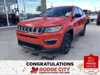 New 2021 Jeep Compass Sport- Heated Seats/ Wheel, Back-Up Camera for sale in Saskatoon, SK