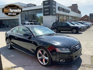 Used 2012 Audi A5 Coupe - SLINE - 2.0T - Quattro - Navigation - Power Roof - Tiptronic - Premium Plus for sale in North York, ON