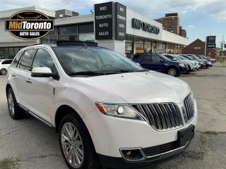 Used 2013 Lincoln MKX AWD - Navi - Roof - Leather - Heated Steering Wheel - Blind Spot with Cross Traffic - THX - Upgraded Model 101A for sale in North York, ON