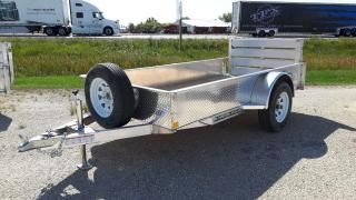 New 2021 Stronghaul Trailer 5 x 10 x 15 Aluminum for sale in Elie, MB