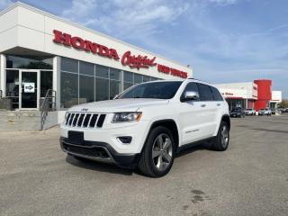 Used 2014 Jeep Grand Cherokee Limited 4WD | LOADED! for sale in Winnipeg, MB