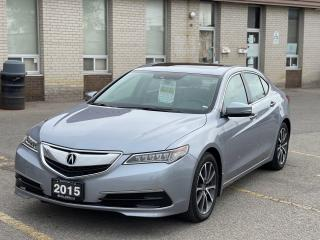 Used 2015 Acura TLX TECH PKG V6 AWD NAVIGATION/CAMERA/BLIND SPOT for sale in North York, ON