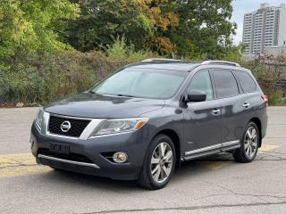 Used 2014 Nissan Pathfinder PLATINUM 4X4 NAVIGATION/360 CAMERA/7 PASS for sale in North York, ON