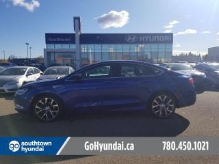 Used 2015 Chrysler 200 V6/AWDSAFTEY GROUP/NAVI/ROOF/LEATHER for sale in Edmonton, AB