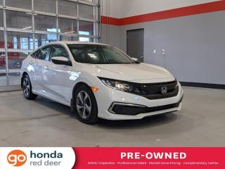 Used 2019 Honda Civic SEDAN LX for sale in Red Deer, AB