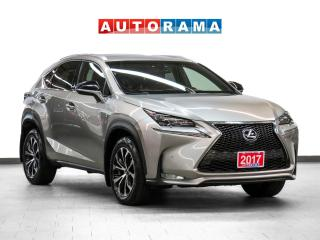 Used 2017 Lexus NX 200T AWD Nav Red Leather Sunroof Bcam for sale in Toronto, ON