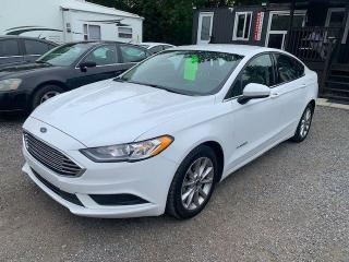 Used 2017 Ford Fusion S Hybrid for sale in Oshawa, ON