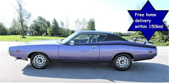 1971 Dodge Charger Rust Free Factory Plum Crazy N code 383 Automatic