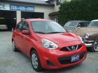 Used 2017 Nissan Micra S, Hatchback for sale in Beaverton, ON