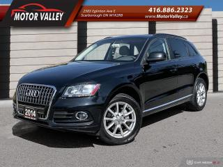Used 2014 Audi Q5 Quattro 2.0L Komfort 1-Owner No Accident! for sale in Scarborough, ON