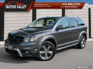 Used 2016 Dodge Journey AWD Crossroad Navigation/Camera/DVD No Accident! for sale in Scarborough, ON
