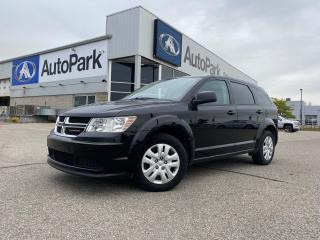 Used 2016 Dodge Journey CVP/SE Plus | BLUETOOTH DUAL-ZONE CLIMATE CONTROL | CRUISE CONTROL | for sale in Innisfil, ON