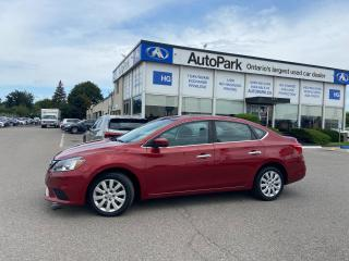 Used 2017 Nissan Sentra 1.8 SV REAR CAMERA | HEATED SEATS | BLUETOOTH | for sale in Brampton, ON
