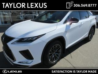 New 2022 Lexus RX 350 for sale in Regina, SK