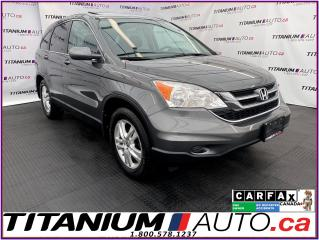 Used 2011 Honda CR-V EX-L+AWD+Sunroof+Leather Heated+XM Radio+One Owner for sale in London, ON